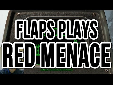Red Menace from fallout 4 Ep1 Epic Fail