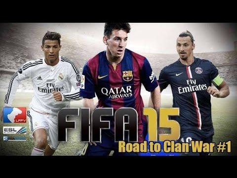 FIFA 15 - Esport | Présentation Clan War Championnat LFFV-ESL-Fifa Versus [ Xbox & PS4 ]