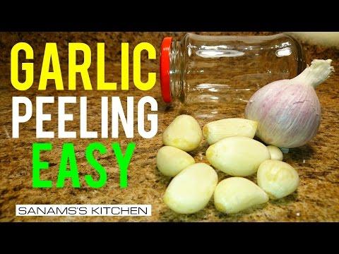 Garlic Peeling Trick Easy & Quick