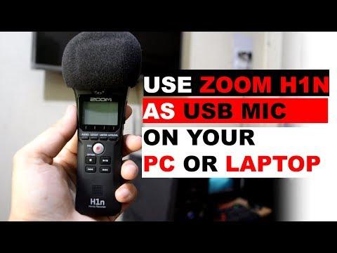 Using a Zoom H1n as a USB MIC | How to use Zoom H1n as a USB Mic | Technical Vids