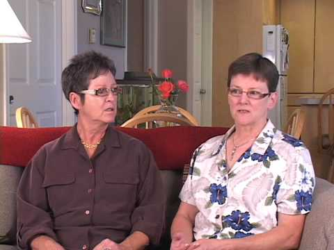 Marge and Diane, Domestic Partners from Spokane - Approve Ref 71