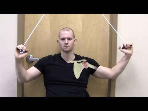 Frozen Shoulder Physical Therapy Pulley Exercises
