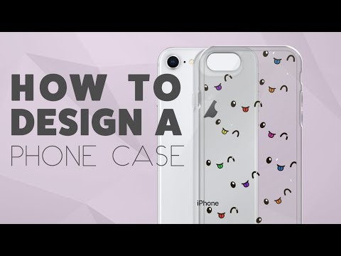 How to Create Your Own Phone Case | iPhone or Samsung Phone Case using Printful (2018)