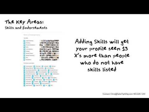 Amplify Your LinkedIn Profile  Tip 15 Skills and Endorsements