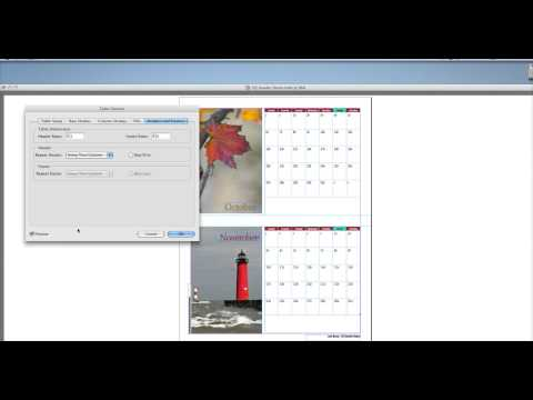 InDesign CS6 Chapter 5 Tables Video 7 - Table Headers and Footers
