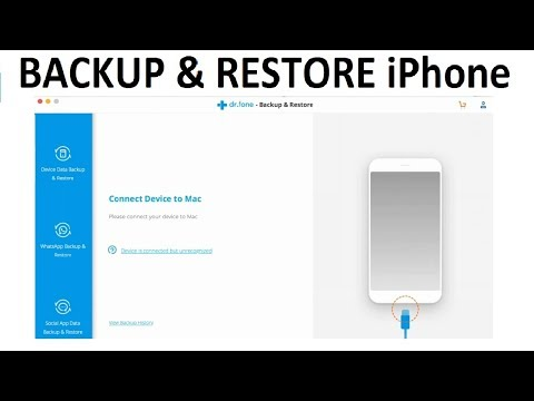 How to Backup & Restore Photos, Contacts, Messages from iPhone