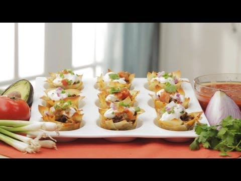 How to Make Taco Cups