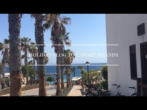 MY FIRST HOLIDAY VLOG TO CANARY ISLANDS!!!