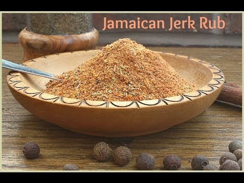 How to Make a Jamaican Jerk Rub - A Homemade Taste of the Caribbean