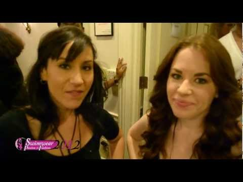 CHIC STUDIOS TWO LEAD MAKE UP ARTIST INTERVIEWED AT THE 2012 SWIMWEAR PASSION FOR FASHION