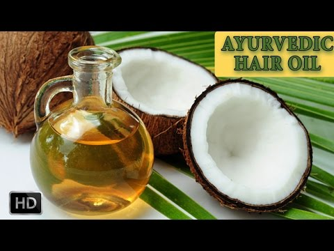 Ayurvedic Hair Massage Oil - How To Make Hair Oils At Home - For Long, Shiny, Lustrous Hair