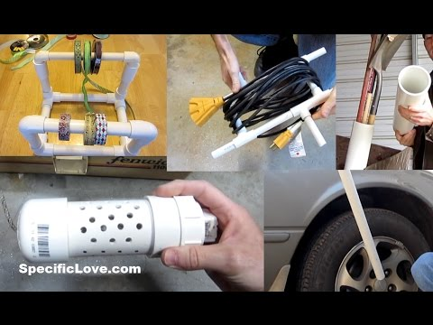 10 Life Hacks with PVC #4