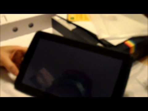 Polaroid 10.1 S10 Android Tablet Unboxing