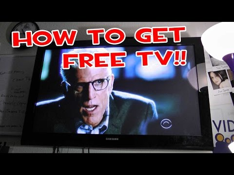 HOW TO GET FREE TV - HDTV Indoor Antennas - Easy Everyday Solutions