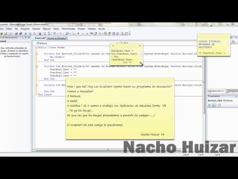 Tutorial Visual Studio 2008 - Como Realizar un Programa de Descuento