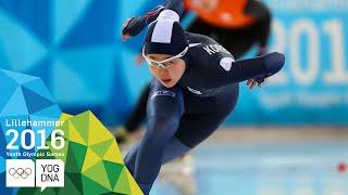 Speed Skating 500m - Min Sun Kim (KOR) wins Women