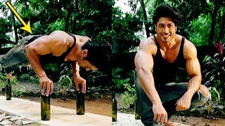 Vidyut Jamwal Performs Push-Ups On Glass Bottles| Vidyut Jamwal Workout Video