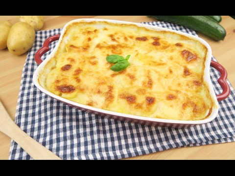 Potato and zucchini parmesan: light, unique and tasty!