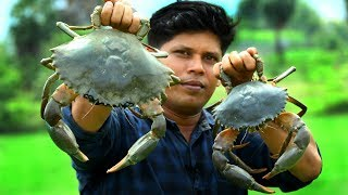 1.5 kg BIG CRAB | KING of CRAB GRAVY | Cooking Skill Village Food Channel