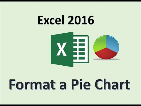 Excel 2016 - Pie Chart Tutorial - How To Make 3D Pie Charts in MS Office - Create Graphs of 2017