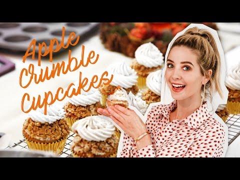 Apple Crumble Cupcakes | Zoella