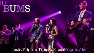 Labvēlīgais Tips un Elza Rozentāle - Bums (Official lyric video)