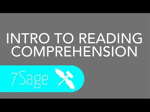 7Sage LSAT - Introduction to Reading Comprehension