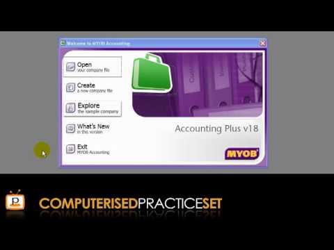 MYOB accounting tutorial: Getting started in MYOB