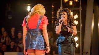 Jazz Bates Chambers Vs Luciee Marie Closier - 'Grenade' (Bruno Mars) - The Voice UK 2014   BBC One