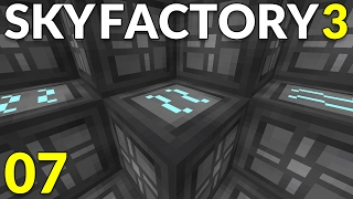 FTB Sky Factory 3 ep08 - Grid Power (GP) Water Mills [Minecraft 1 10