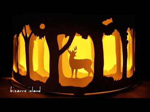 Easy Affordable DIY Patronus Nightlight w/ ONLY 4 Materials🦌 | c for craft
