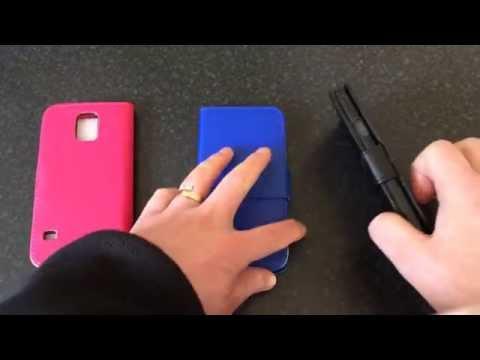 Samsung Galaxy S5 Flip/Book Case Review