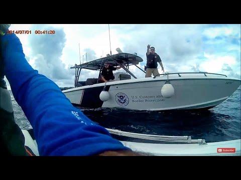 Miami To Bimini Bahamas 19 feet jet boat