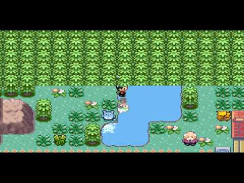 Pokemon Emerald Daycare Grass
