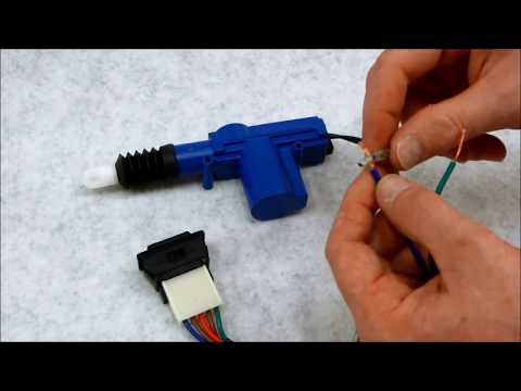 Simple 5 wire switch and door lock actuator kit