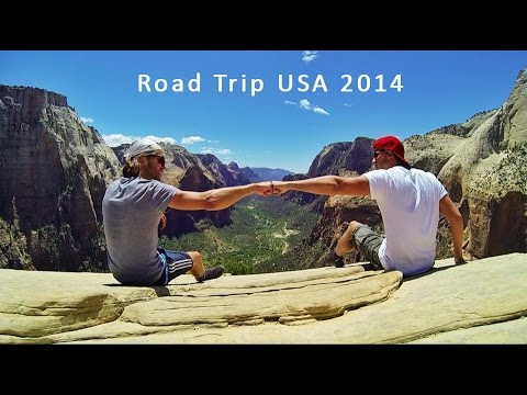 49 Day USA Road Trip 2014 - East and West Coast - GoPro Hero 3 Black [1080p]