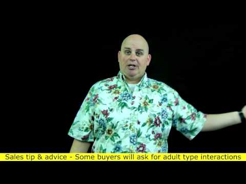 Strange requests from buyers in sales - Adult favors or request (2 of 5) Scott Sylvan Bell new mods