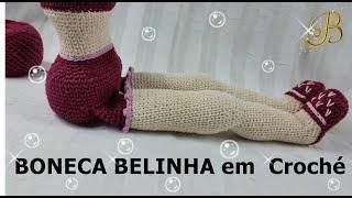 Amigurumi Boneca - parte 3/9 Mão e Braço - YouTube | Bonecas de ... | 180x320