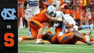 North Carolina vs. Syracuse Football Highlights (2018)