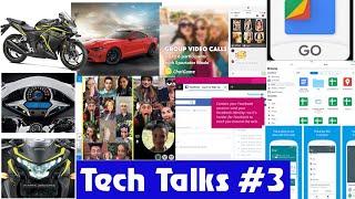 Tech Talks #3 - Facebook container, CBR 250 R, Files go, Ford new car Etc...