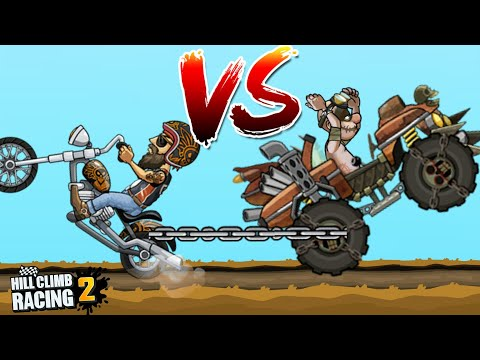 Chopper vs Monster Truck   Hill Climb Racing 2