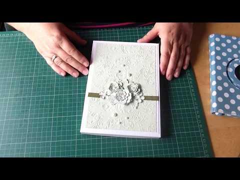 Wedding card and horseshoe