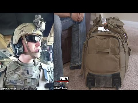 Soldier is charged $200 by United Airlines for his overweight military duffel on his way home