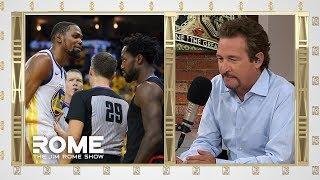 Kevin Durant Gets SHUT DOWN! | The Jim Rome Show