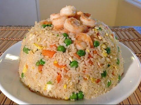 How To Make Shrimp Fried Rice Recipe-Asian Comfort Food Recipes