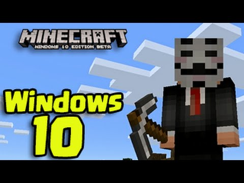 Minecraft Windows 10 - Survival Let's Play