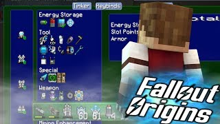 Download PLASMA CANNON UPGRADE! Minecraft FALLOUT ORIGINS #13 ( Minecraft Roleplay SMP ) Video