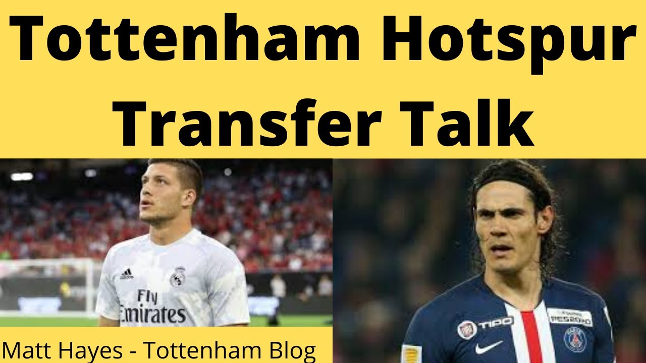 Tottenham Look To Sign Luka Jovic | Jose Mourinho Refuses To Rule Out Edinson Cavani Interest