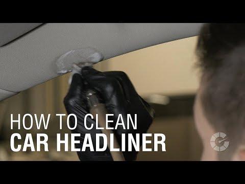 How To Clean Headliner   Autoblog Details