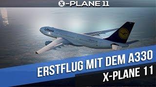 X-PLANE 11   NEW LUFTHANSA   DUBLIN (EIDW) to FRANKFURT